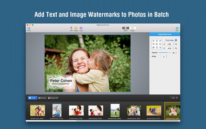 5 Aplicaciones para Mac para Poner Marcas de Agua a Varias Fotos a la Vez