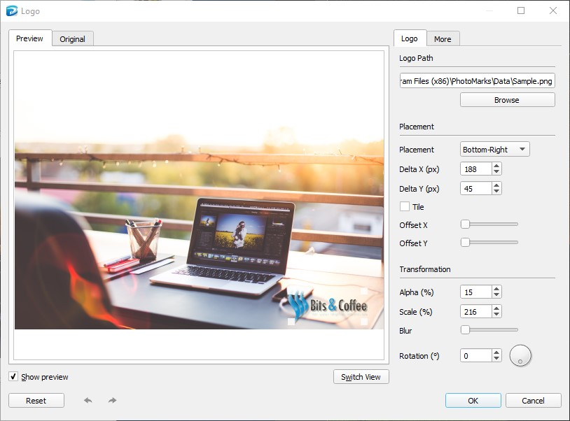 How to Add a Logo to Your Photos